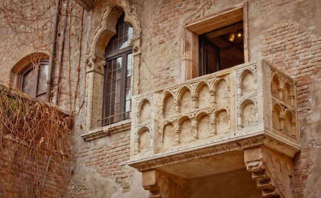 Balcone di Romeo e Giulietta a Verona