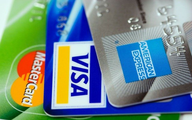 Carte di Credito: Mastercard, Visa, American Express