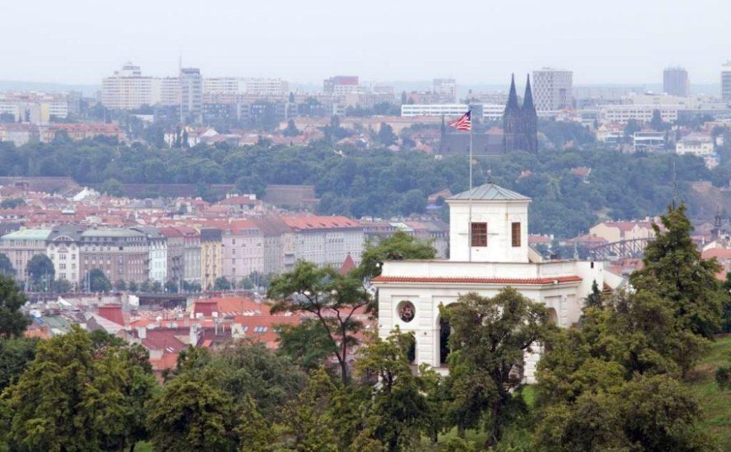 Sede del consolato americano a Praga