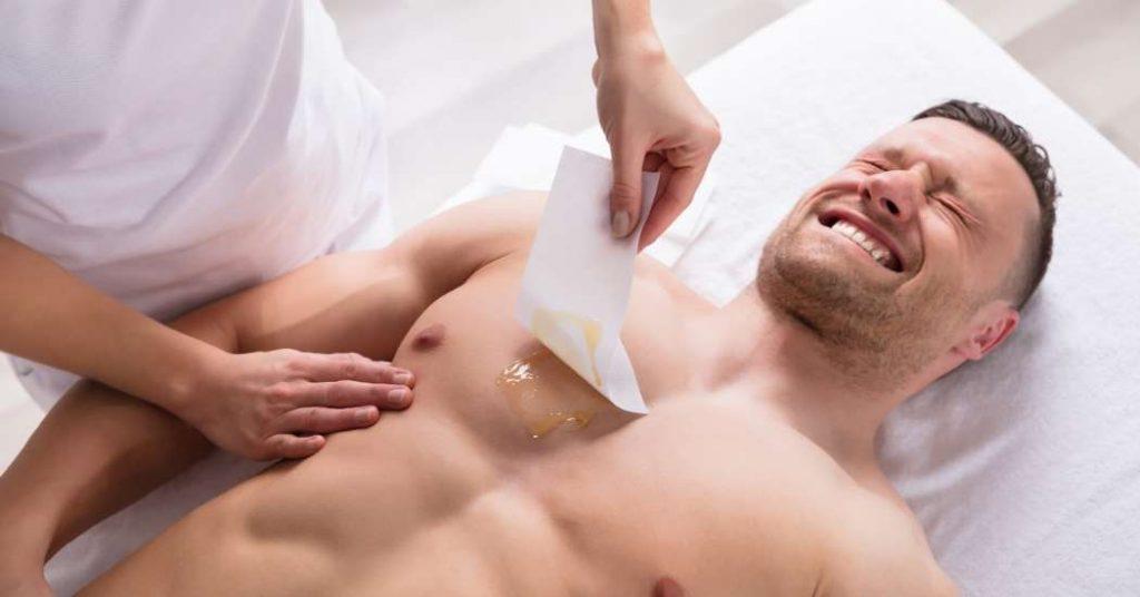 Depilazione con crema depilatoria
