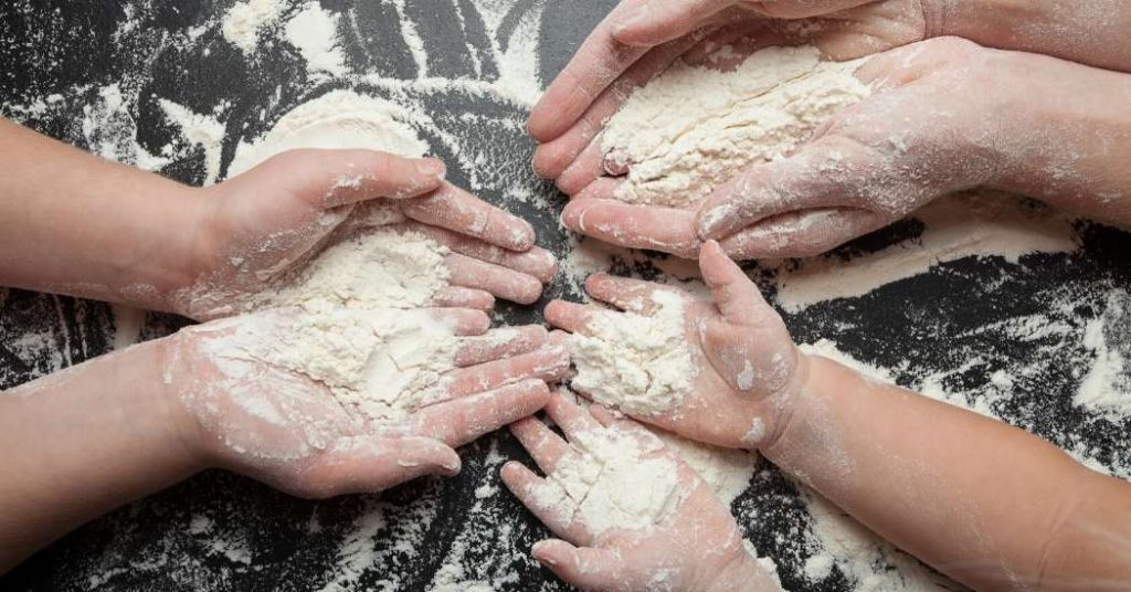 Lavorazione della farina per pasta, pane, dolci