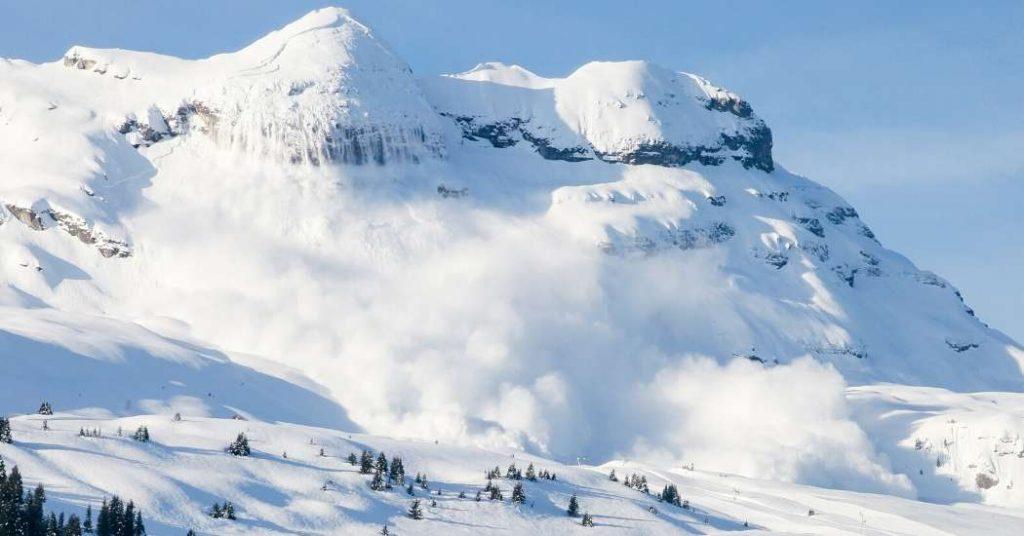 Slavina o Valanga in Montagna