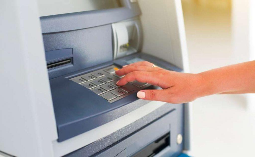 Sportello per prelievi e versamenti ATM